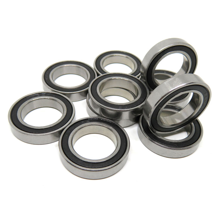 6802rs High quality bicycle wheel bearings 15x24x5mm