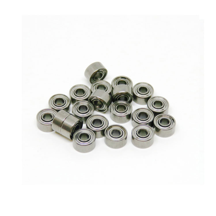 691xzz Bearing Shielded 1.5x5x2.6mm Miniature Ball Bearings