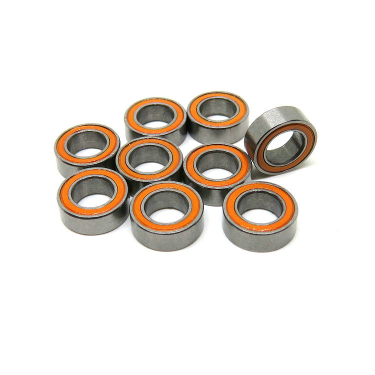 Orange seals MR74RS 4x7x2.5mm rc 1/4 gas car bearing mini electric car bearing