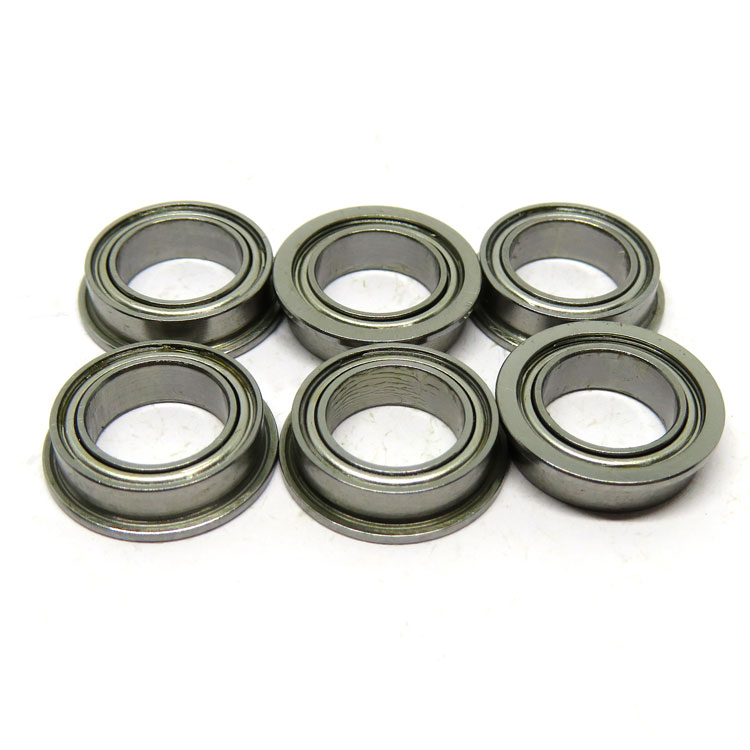 8x12x3.5mm MF128ZZ flanged ball bearing MF128 Robotic Systems Flanged Bearings