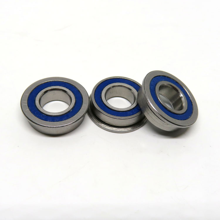 Stainless Steel SF688-2RS 8x19x6mm Rubber Seals Flanged Ball Bearings for radio controlled toy