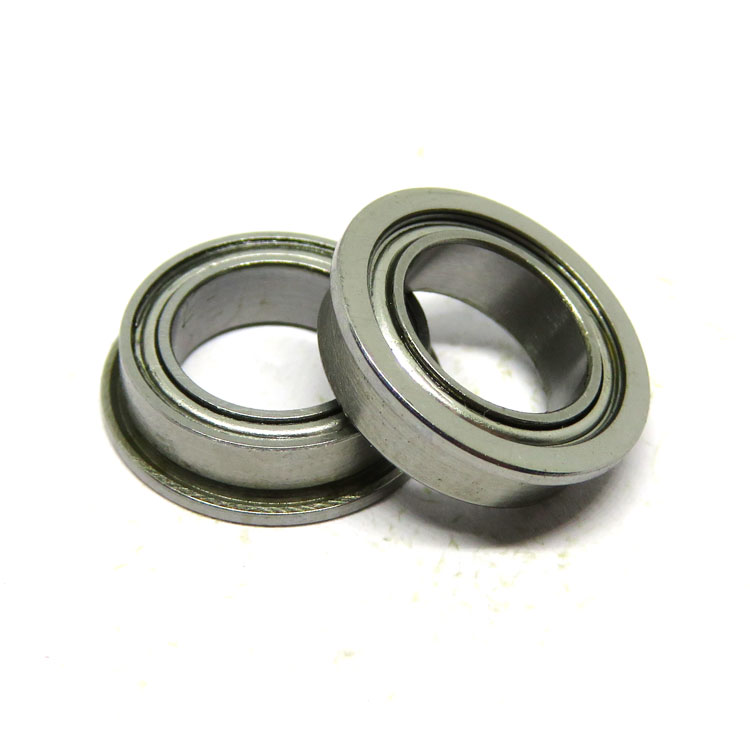 AISI440C Stainless Steel SMF148zz 8x14x4mm Flanged Ball Bearing