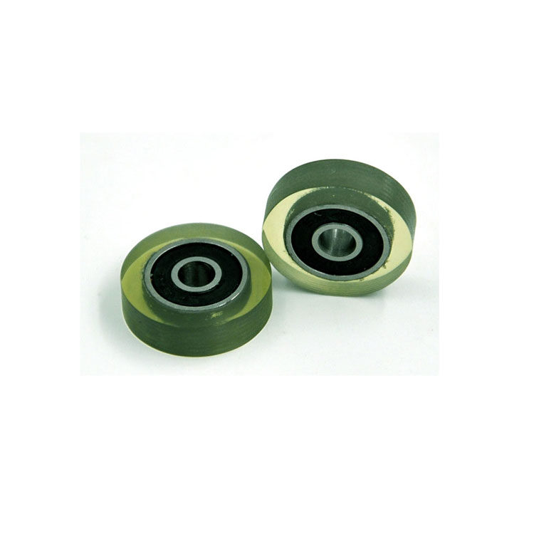 624-2RS small rubber wheels wheelbarrow wheels 4x18x5mm