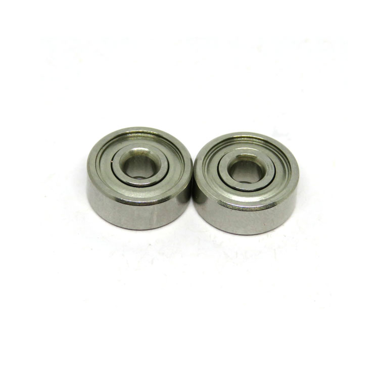SR2-6ZZ 3.175x9.525x3.571mm inch mini stainless steel bearing
