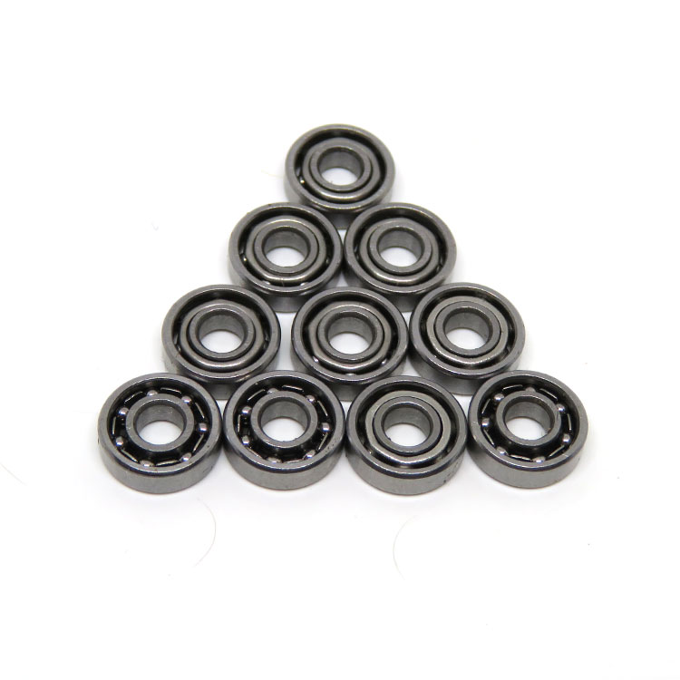 SS691 Open Type Mini Ball Bearing 1x4x1.6mm S691