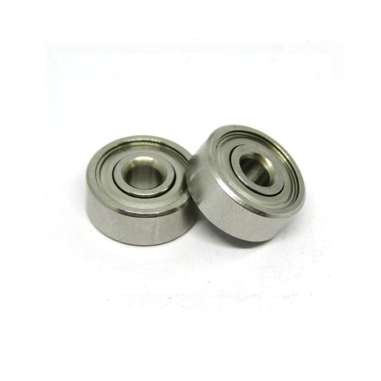 SR168ZZ 1/4x3/8x1/8 Stainless Steel Ball Bearing for RC Kit