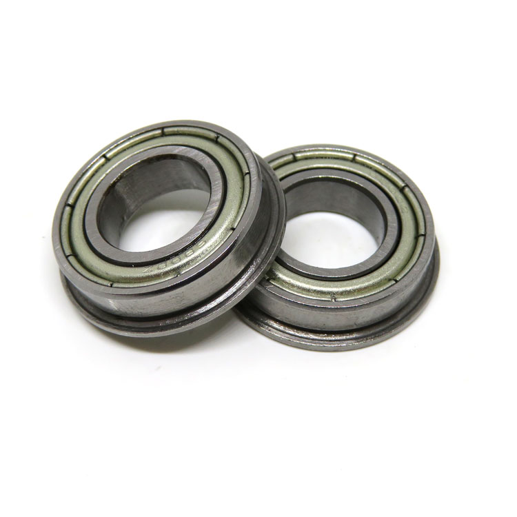F6800 10x19x5mm Metric Shielded Flanged Bearings F6800ZZ