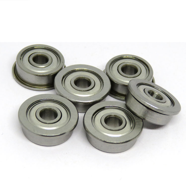 high quality f694 bearing 4x11x4mm small flanged bearing f694zz