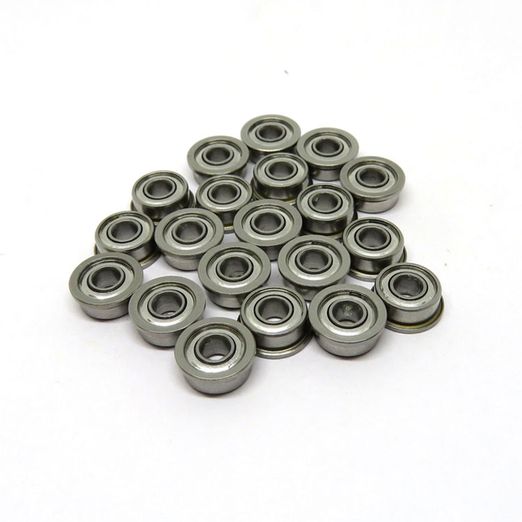 3x8x4mm F693zz Micro Flanged Ball Bearings on Sale