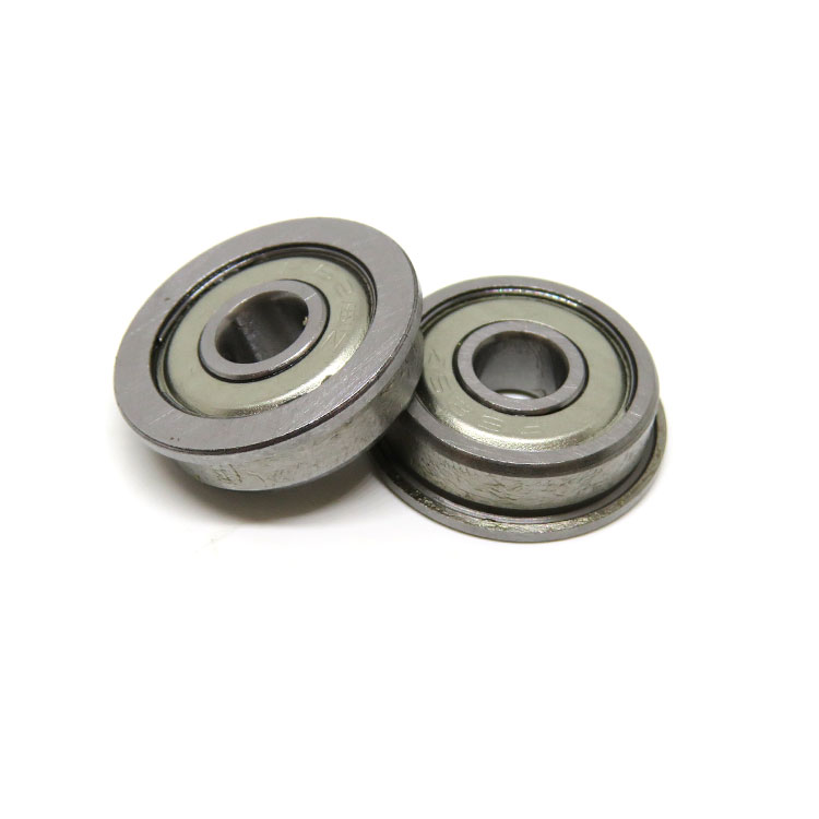 F626ZZ 6x19x6mm Aluminum rear hub carriers bearing with flange