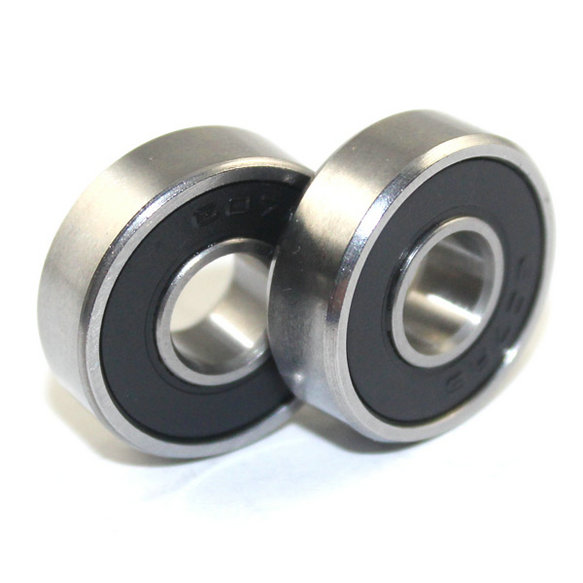 S607ZZ S607 2RS gate roller bearing 7x19x6mm stainless steel ball bearings