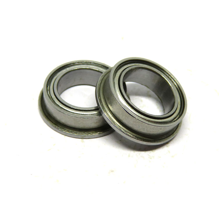 SMF137ZZ mini jet engine bearing SMF137-2Z small stainless steel flange bearing 7x13x4mm
