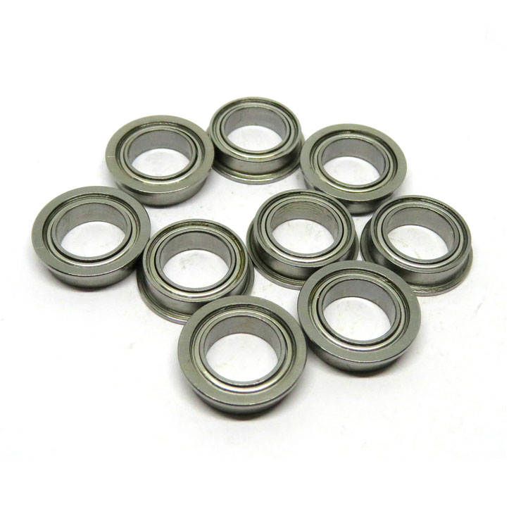 SMF128zz RC car kit ball bearing set SMF128-2Z Stainless Steel Mini Flanged Bearing 8x12x3.5mm