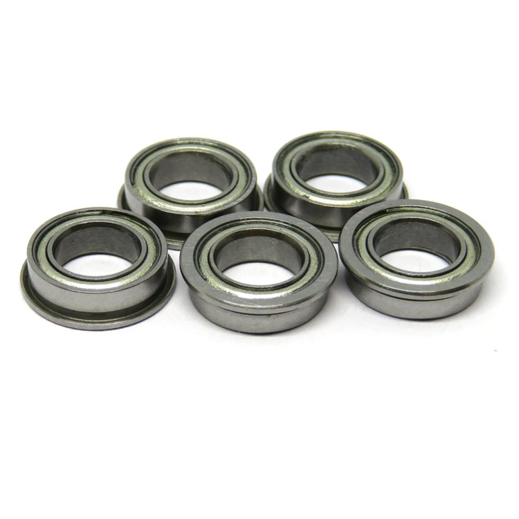 Stainless Steel SMF106zz water resistant flange ball bearing