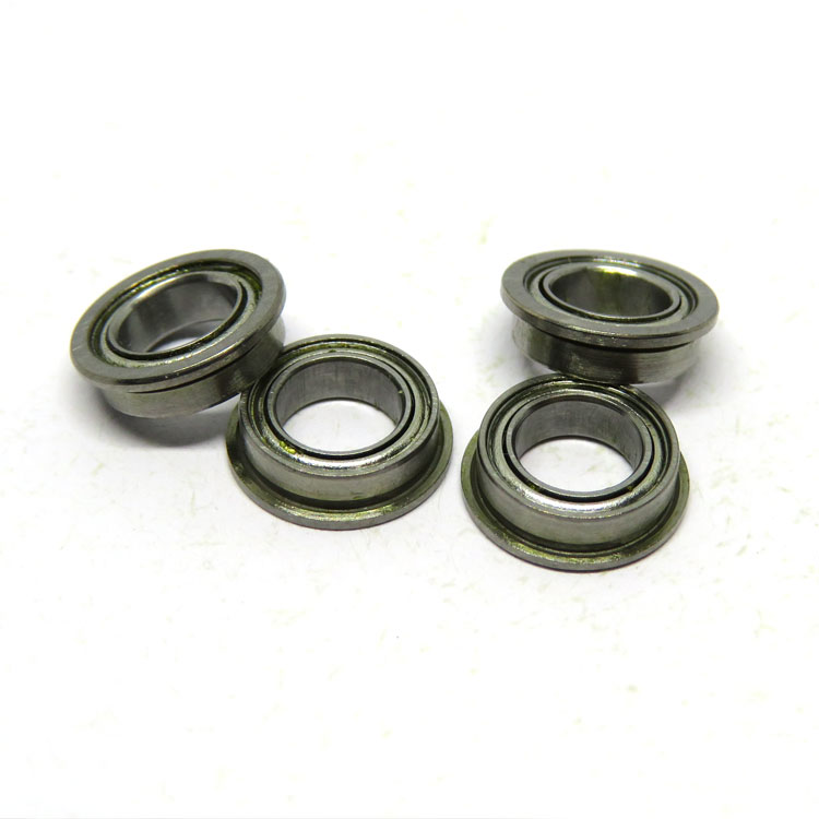 SMF85ZZ Flanged Bearing 5x8x2.5mm Stainless Steel Shielded Bearings