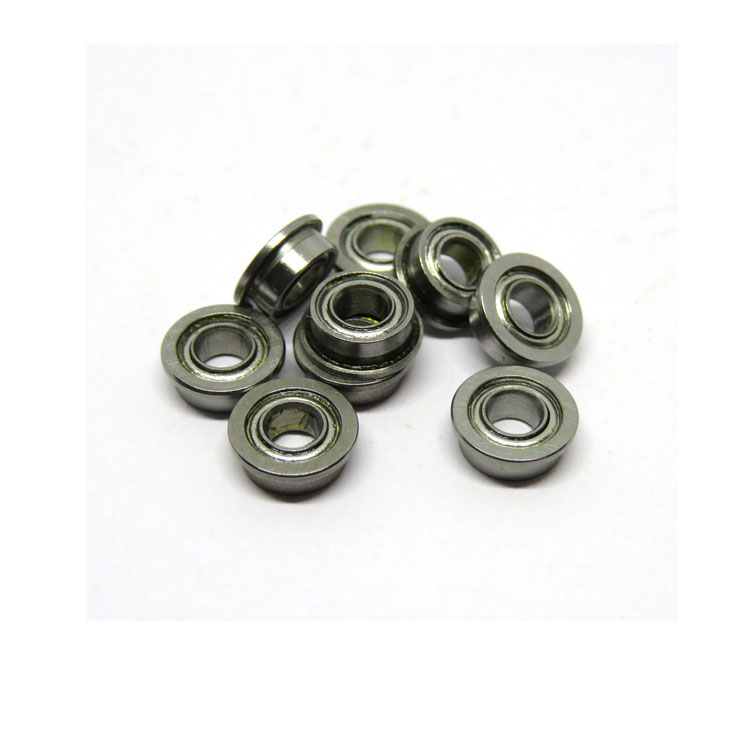 Stainless Steel SMF63zz micro flanged miniature ball bearing 3x6x2.5mm