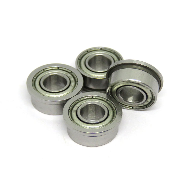 SF605zz stainless steel flange ball bearing 5x14x5mm
