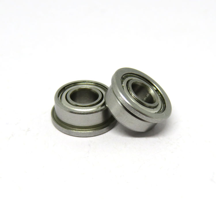 Metal Double Shielded SF604zz Stainless Steel Miniature Flanged Ball Bearings 4x12x4mm