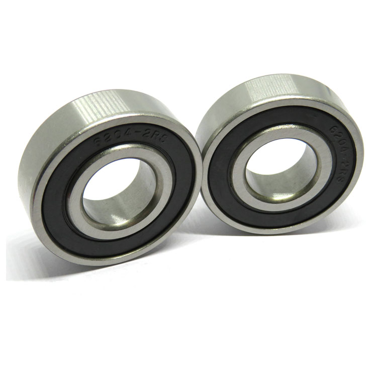 6204 2RS ball bearing 20x47x12mm conveyor bearing 6204RS