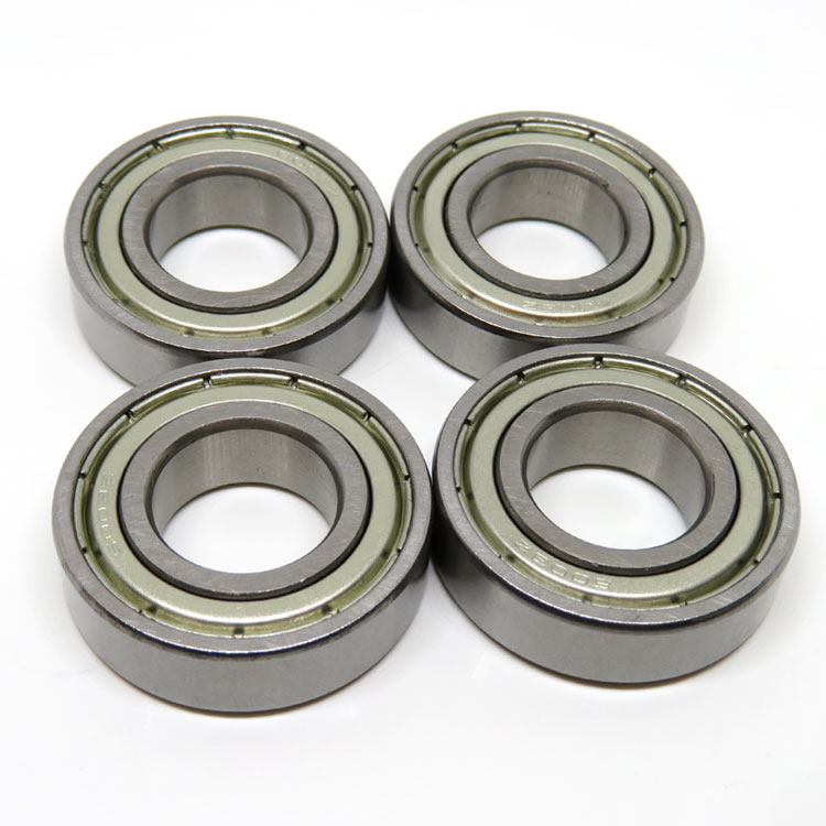 6203ZZ 17x40x12mm metal shielded ball bearing 6203-2Z