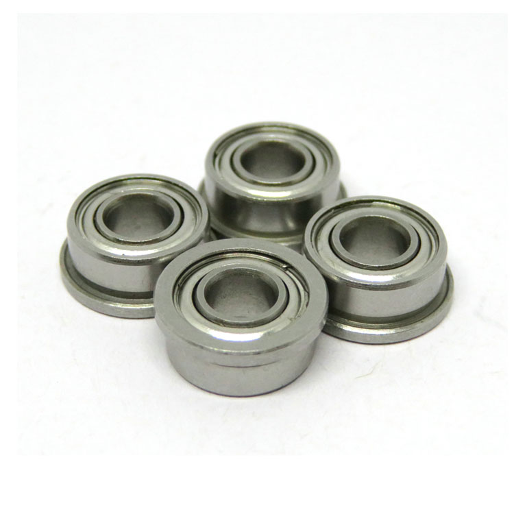 SF684ZZ Stainless Steel Flanged Miniature Ball Bearing 4x9x4mm