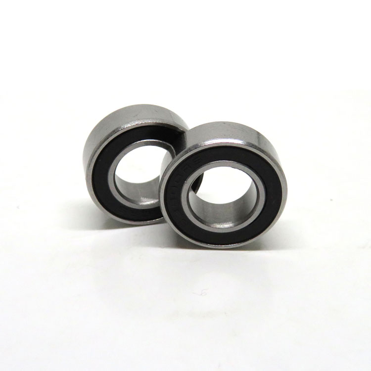 10x19x7mm 63800-2RS Rubber Seals Ball Bearings 63800RS medical equipment bearing