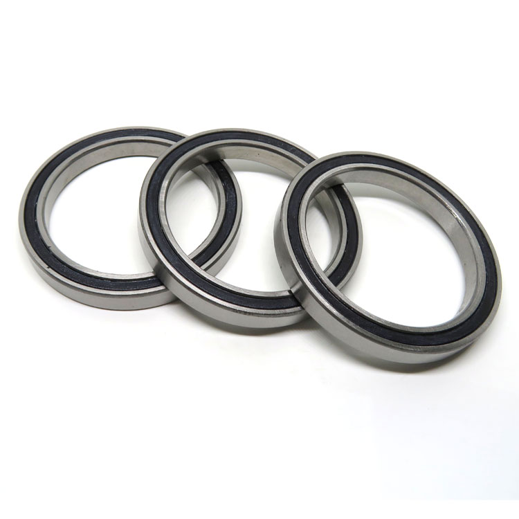 6808 Agricultural machinery bearing 6808 2RS Rubber Seals Ball Bearing 40x52x7mm
