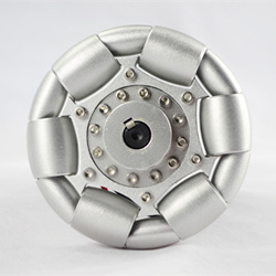 100mm Aluminum single Omni wheel for ball balance ballbot 14179