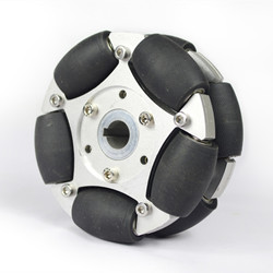 127mm Heavy Duty Aluminum Omni Wheel with Bearing Rollers(with keyway)14153