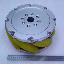 A set of 10 inch(254mm) heavyduty industrial mecanum wheel (Load cacipity 1500KG) NM254A
