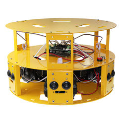 3WD 100mm Omni Wheel Arduino robotics car 10006