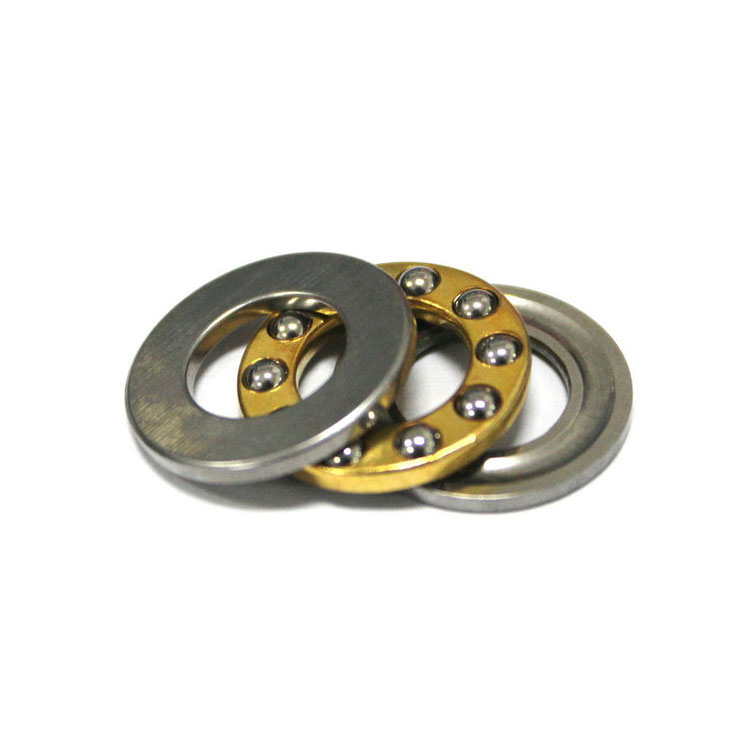 F3-8M Miniature Thrust Bearings with grooved raceway 3x8x3.2mm