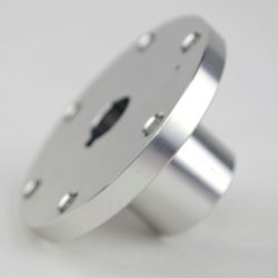 12mm universal aluminum mounting hubs for shaft