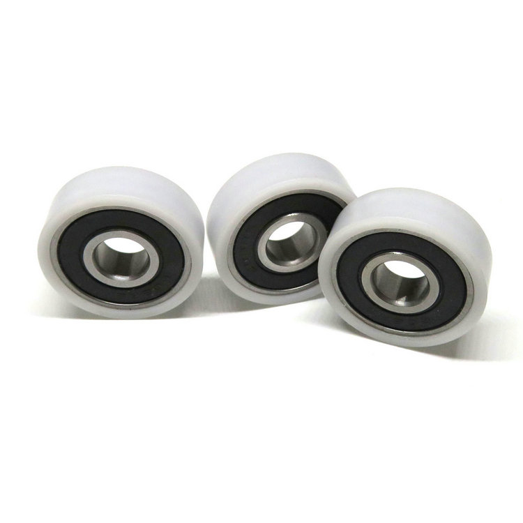 608RS 8x25x8mm cabinet sliding door wheels